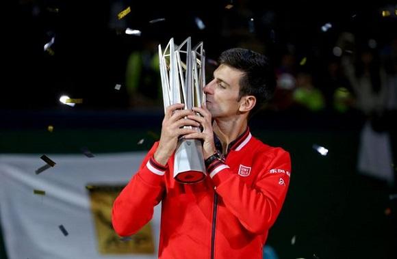 Djokovic Shanghai 2015 Trophy