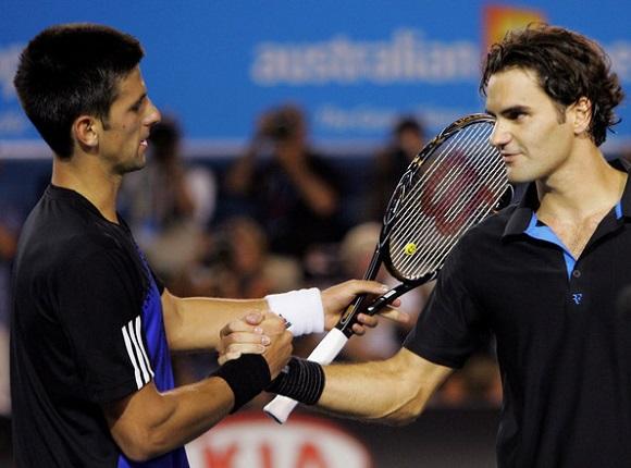 Roger+Federer+Novak+Djokovic+Australian+Open+MPnU53Mj89ol