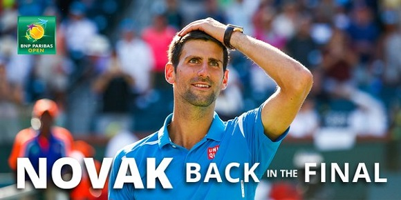 Djokovic Indian Wells 2016